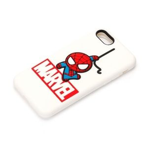 NWT iPhone 7 8 silicon case - Spider-Man marvel